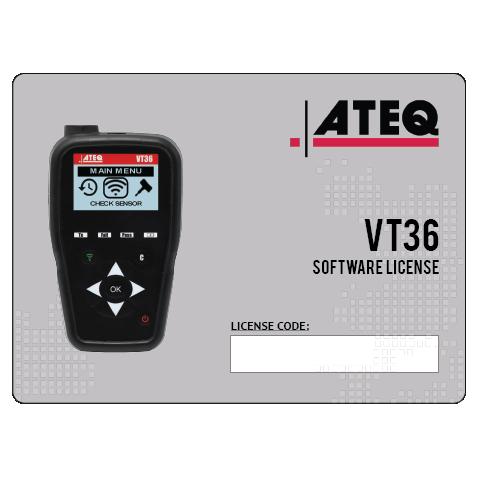 ATEQ VT36 TPMS sensor activation and programming tool