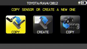 VT56 copy sensor