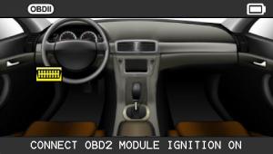 VT56 screen obd2 connect