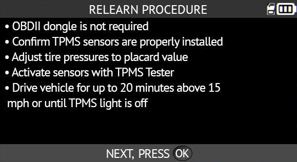 TPMS diagnostic information – RAM 1500 2008-2020 - ATEQ-TPMS