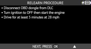 RAM OBDII Relearn 2