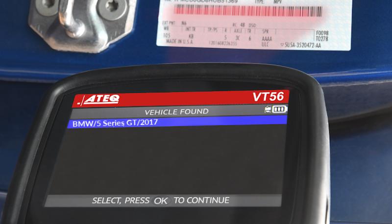 BMW VIN Scan VT56