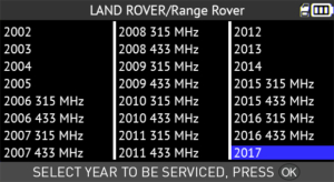 Land Rover Year