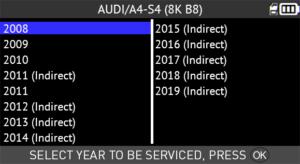 TPMS DIAGNOSTIC INFORMATION – Audi A4, 2002-2019 - ATEQ-TPMS