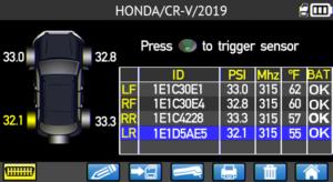 Honda CR-V Car Screen