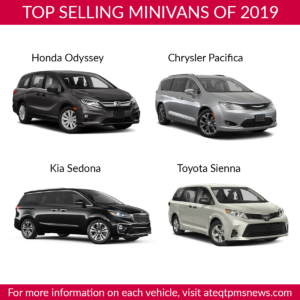 Top Selling minivans
